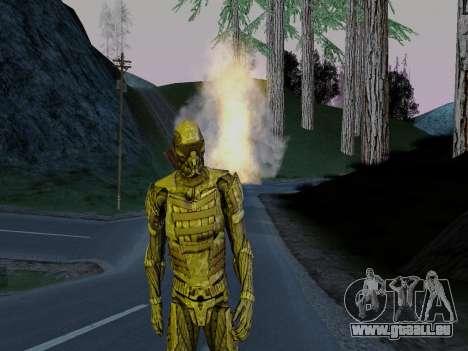 Nano-combinaison coréen de Crysis pour GTA San Andreas