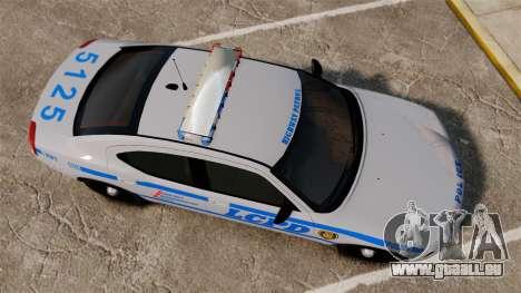 Dodge Charger LCPD [ELS] pour GTA 4 est un droit