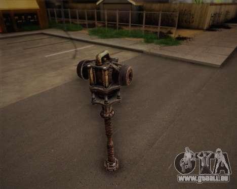 Mutant bat de Fallout 3 pour GTA San Andreas deuxième écran