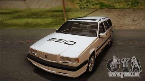 Volvo 850 Estate Turbo 1994 pour GTA San Andreas vue intérieure