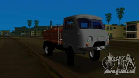 UAZ 465 Truck pour une vue GTA Vice City de la gauche