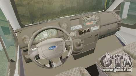 Ford Transit Passenger für GTA 4 Rückansicht