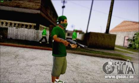 Lamar Davis GTA V pour GTA San Andreas troisième écran