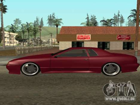 JTX Tuned Elegy pour GTA San Andreas laissé vue