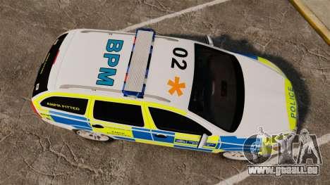 Skoda Octavia Scout RS Metropolitan Police [ELS] für GTA 4 rechte Ansicht