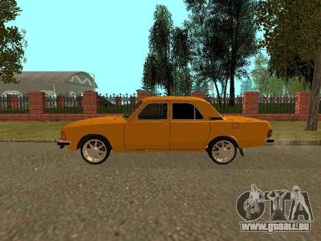 GAZ Volga 3102 pour GTA San Andreas laissé vue