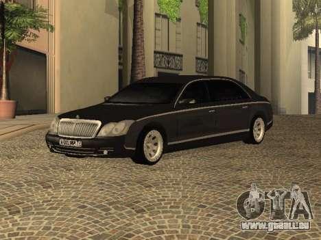 Maybach 62 V2.0 pour GTA San Andreas