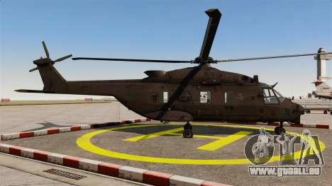 Eurocopter NHIndustries NH90 [EPM] pour GTA 4 est une gauche