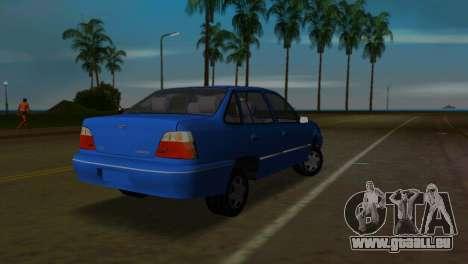 Daewoo Cielo pour une vue GTA Vice City de la gauche