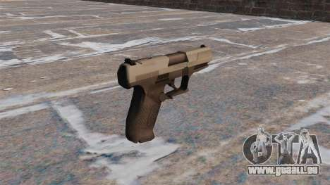 Pistolet semi-automatique Walther P99 MW3 pour GTA 4 secondes d'écran