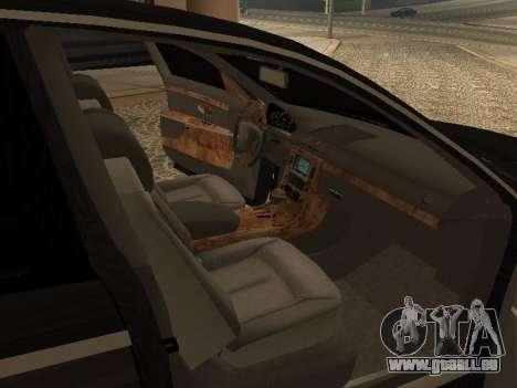 Maybach 62 V2.0 pour GTA San Andreas vue de droite