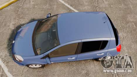 Renault Clio III Phase 2 für GTA 4 rechte Ansicht