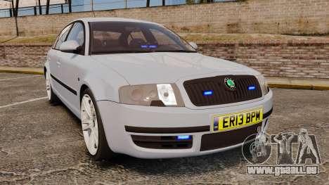 Skoda Superb 2006 Unmarked Police [ELS] für GTA 4