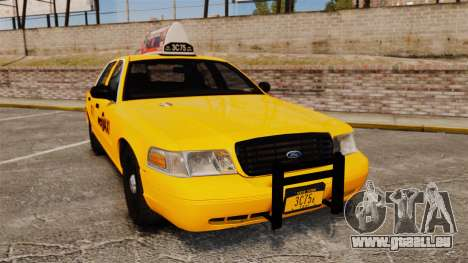 Ford Crown Victoria 1999 NYC Taxi v1.1 pour GTA 4