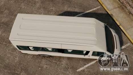 Ford Transit Passenger für GTA 4 rechte Ansicht