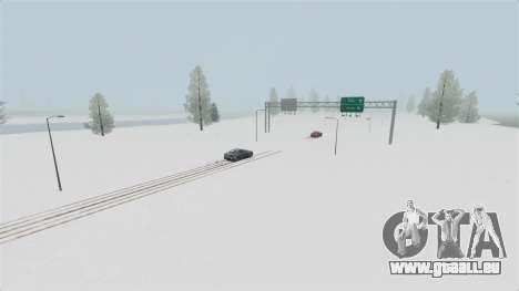 Lage von arktischen Wunderland für GTA 4 fünften Screenshot