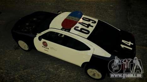 Dodge Charger LAPD 2008 für GTA 4 Innenansicht