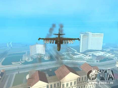 Su 25 pour GTA San Andreas vue intérieure