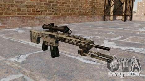 Scharfschützengewehr Remington R11 RSASS für GTA 4
