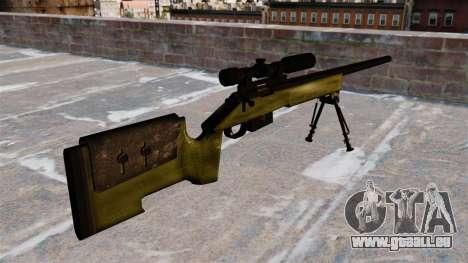 Scharfschützengewehr M40A3 für GTA 4 Sekunden Bildschirm