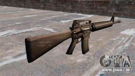 Halbautomatische AR-15 Gewehr Armlite für GTA 4 Sekunden Bildschirm