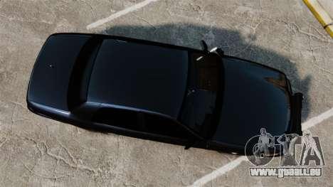 Ford Crown Victoria Stealth [ELS] pour GTA 4 est un droit