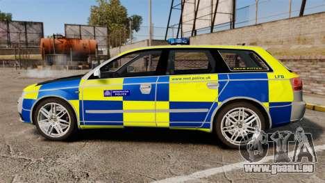 Audi S4 Avant Metropolitan Police [ELS] pour GTA 4 est une gauche