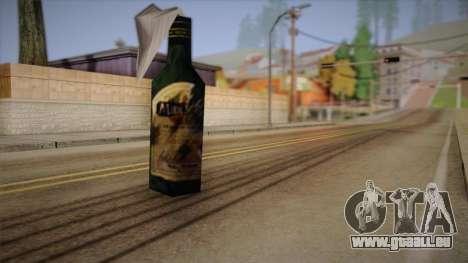 Cocktail Molotov de Max Payne pour GTA San Andreas deuxième écran