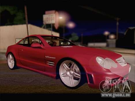Mercedes SL500 v2 für GTA San Andreas linke Ansicht