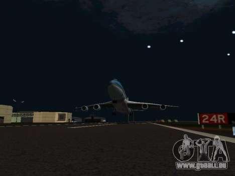 Boeing-747-400 Airforce one pour GTA San Andreas vue intérieure