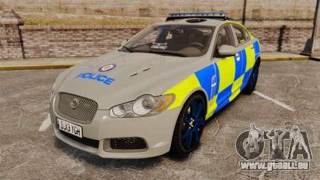 Jaguar XFR 2010 West Midlands Police [ELS] für GTA 4
