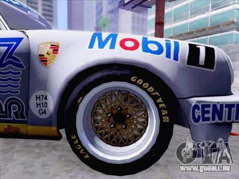Porsche 911 RSR 3.3 skinpack 1 pour GTA San Andreas vue de droite
