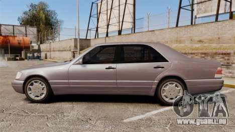 Mercedes-Benz S600 W140 pour GTA 4 est une gauche