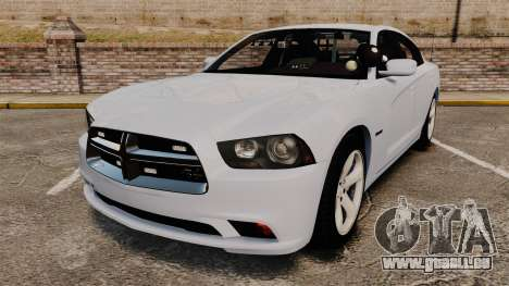 Dodge Charger RT 2012 Unmarked Police [ELS] für GTA 4