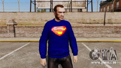 Collection de Superman pour GTA 4