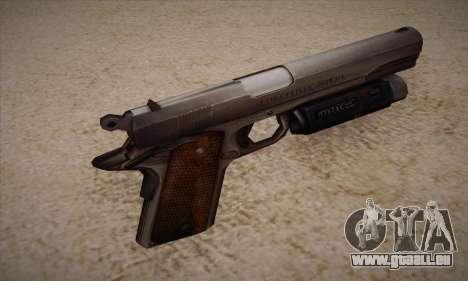 Le pistolet de Left 4 Dead 2 pour GTA San Andreas deuxième écran