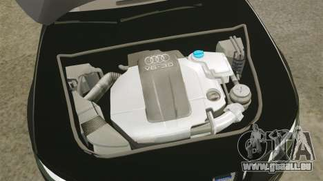 Audi S4 Unmarked Police [ELS] für GTA 4 Innenansicht