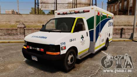 Brute Alberta Health Services Ambulance [ELS] für GTA 4