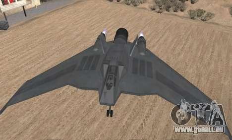 StarGate F-302 pour GTA San Andreas