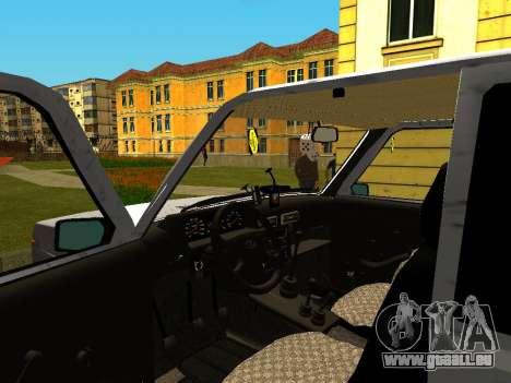VAZ 21214 für GTA San Andreas Rückansicht