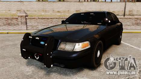 Ford Crown Victoria Stealth [ELS] pour GTA 4