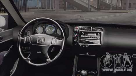 Honda Civic Tuning pour GTA San Andreas vue de droite