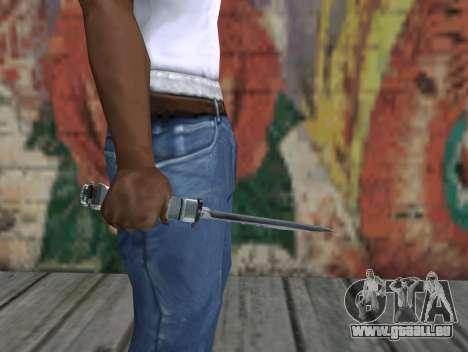 Couteau de S.T.A.L.K.E.R. pour GTA San Andreas troisième écran