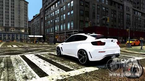 BMW X6 M Hamann 2013 Vossen für GTA 4-Motor