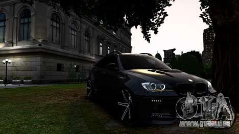 BMW X6 M Hamann 2013 Vossen für GTA 4 linke Ansicht