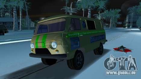 Collection UAZ-3741 pour une vue GTA Vice City de la droite