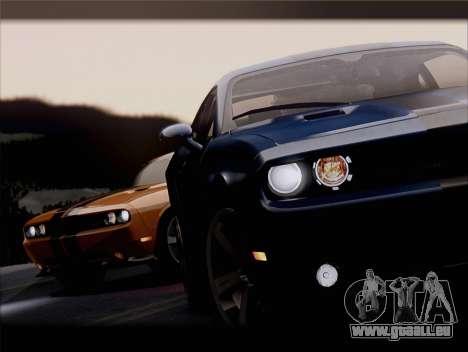 Dodge Challenger SRT8 2012 HEMI für GTA San Andreas Innen