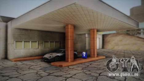 Garage in Dorothy für GTA San Andreas dritten Screenshot