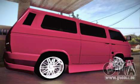 Volkswagen Transporter T2 Tuning pour GTA San Andreas vue de côté