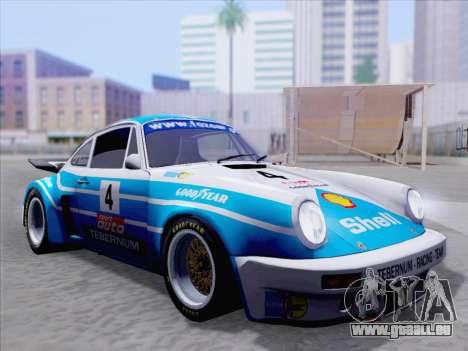Porsche 911 RSR 3.3 skinpack 1 für GTA San Andreas Innen